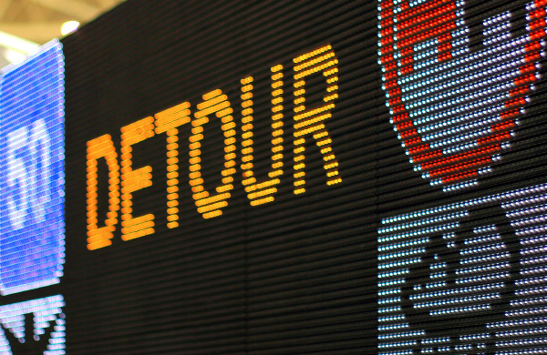 LED variable message traffic boards